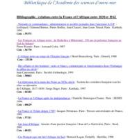 BibliographieRelationsFranceAfrique1830a1962.pdf