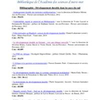 Bibliographie Développement durable.pdf