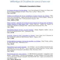 Bibliographie Francophonie et Afrique-2.pdf